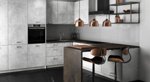 Trend alert - beton. Surowy materiał potrafi stworzyć przytulne wnętrze