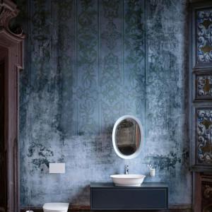 Klasyczna łazienka z ekologicznego materiału