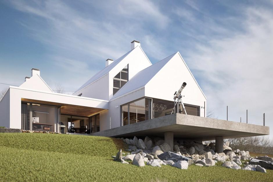 Dom udanego kompromisu: nowoczesny, ale z tradycją
