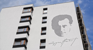 Dom Development dodaje kolejny mural na Żoliborzu Artystycznym, upamiętniając Zygmunta Hübnera