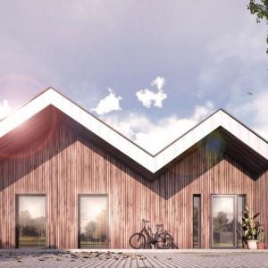 Dom zainspirowany geometrią