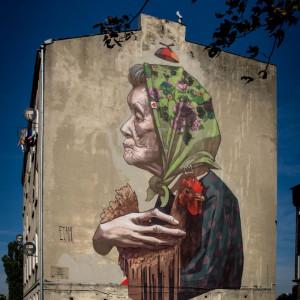 Romans sztuki z miastem, czyli wielki powrót murali