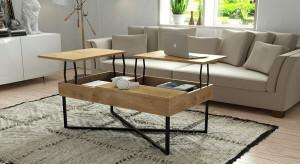 Drewniane stoliki kawowe: to jest na topie