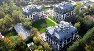 Krakowski deweloper z luksusowym apartamentowcem w Konstancinie