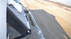 Dach i rynny przygotowane na zimę