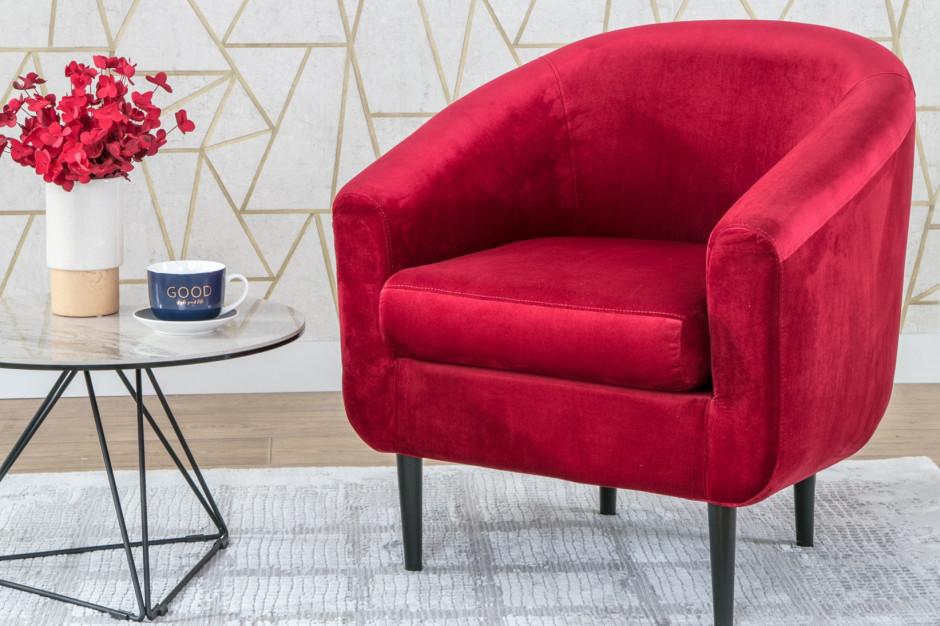Nowy trend: modna czerwień we wnętrzu