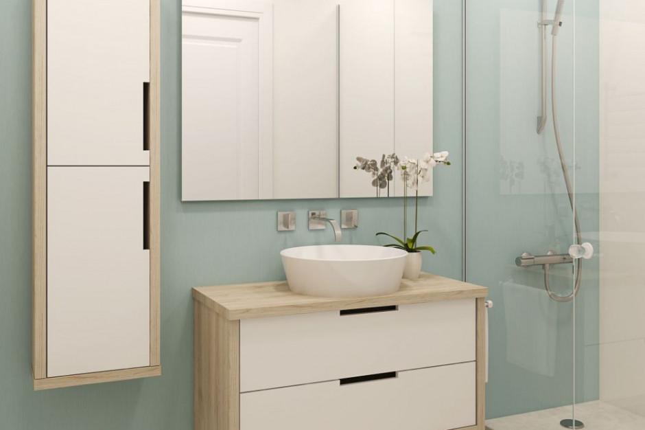 Łazienka bez glazury - czym pokryć ściany zamiast płytek?