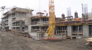 III etap osiedla Lifetown na warszawskim Ursynowie na finiszu konstrukcji żelbetowej