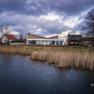 Pod Częstochową powstał dom inspirowany kształtem łodzi
