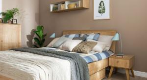 Przytulna sypialnia na zimne dni