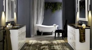 Ciemne barwy w łazience i kuchni. Nie tylko dla odważnych