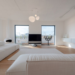 Minimalistyczny apartament w stylu zen w Bratysławie