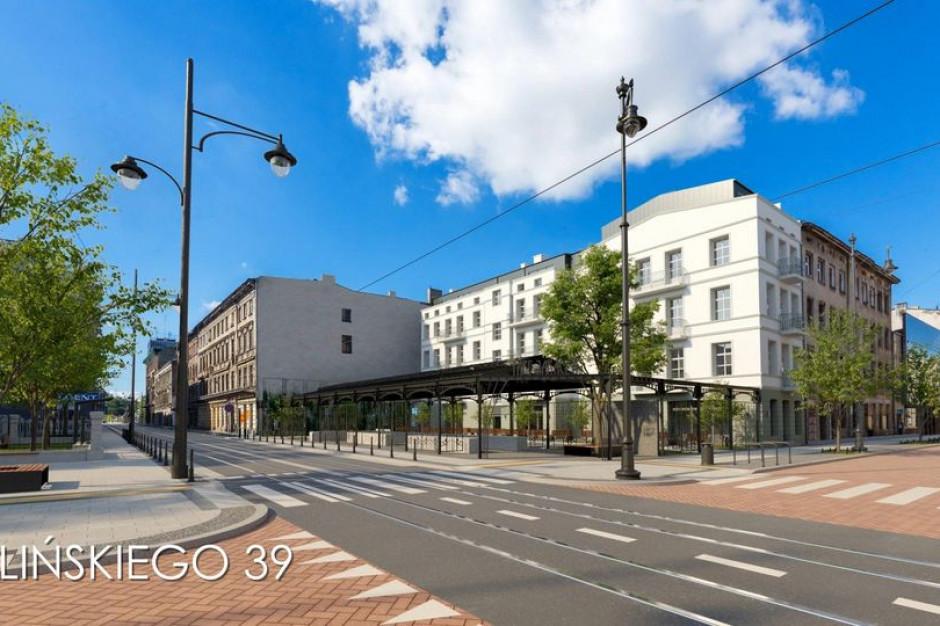 Łódź nadbuduje kamenicę przy skrzyżowaniu ul. Jaracza i Kilińskiego