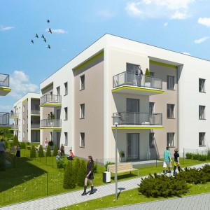 Zielone Pobiedziska - dwa budynki już gotowe
