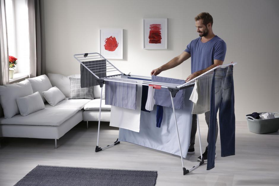 7 wskazówek dotyczących suszenia prania w małym mieszkaniu
