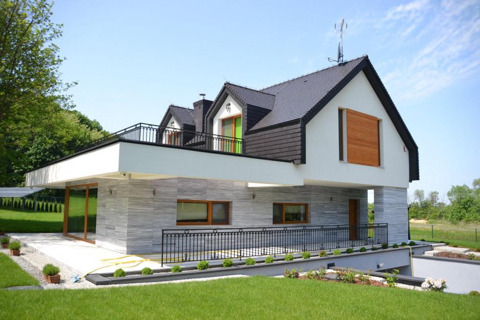 """Dach - """"kropka nad i"""" podczas budowy domu"""