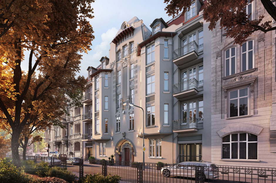 Constructa Plus odświeża adres Matejki 51 w Poznaniu