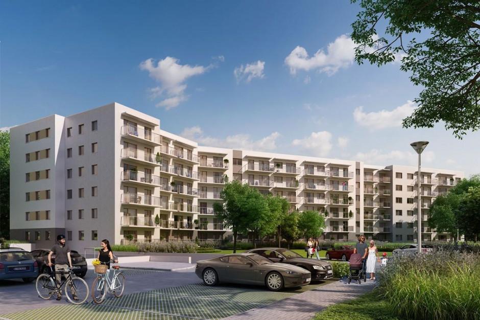 Reduta Nowe Podolany - powstaje 9 budynek osiedla