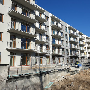 8 budynek Reduty Nowe Podolany na mecie. Odbiory mieszkań w sierpniu