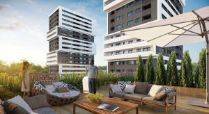 Nowe apartamentowce nad Brdą w Bydgoszczy
