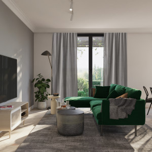Eleganckie mieszkanie zainspirowane stylem loft