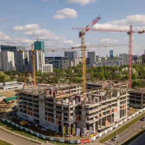 Central Garden w Warszawie: budowa zgodnie z planem