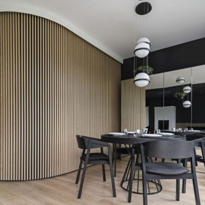 "Projekt ""Ostródzka"" - dom konkretny od KAEL Architekci"