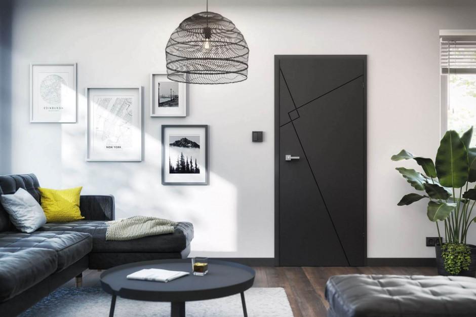 Drzwi w bieli, czerni czy kolorze?