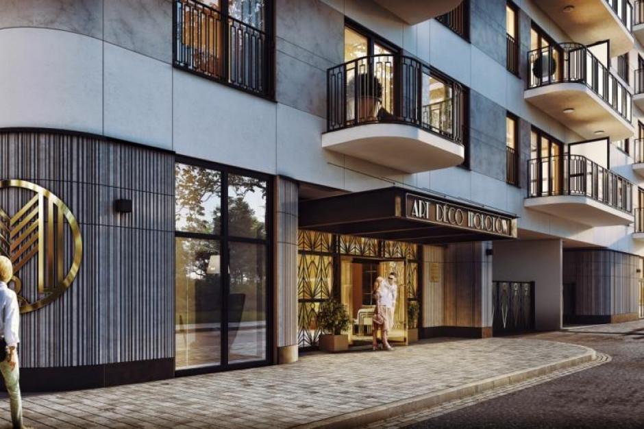Unimax odpowiedzialny za budowę Art Deco Mokotów