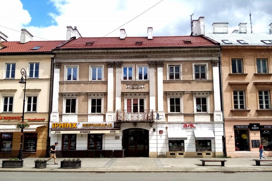 Kamienica na warszawskim Nowym Świecie zmienia właściciela