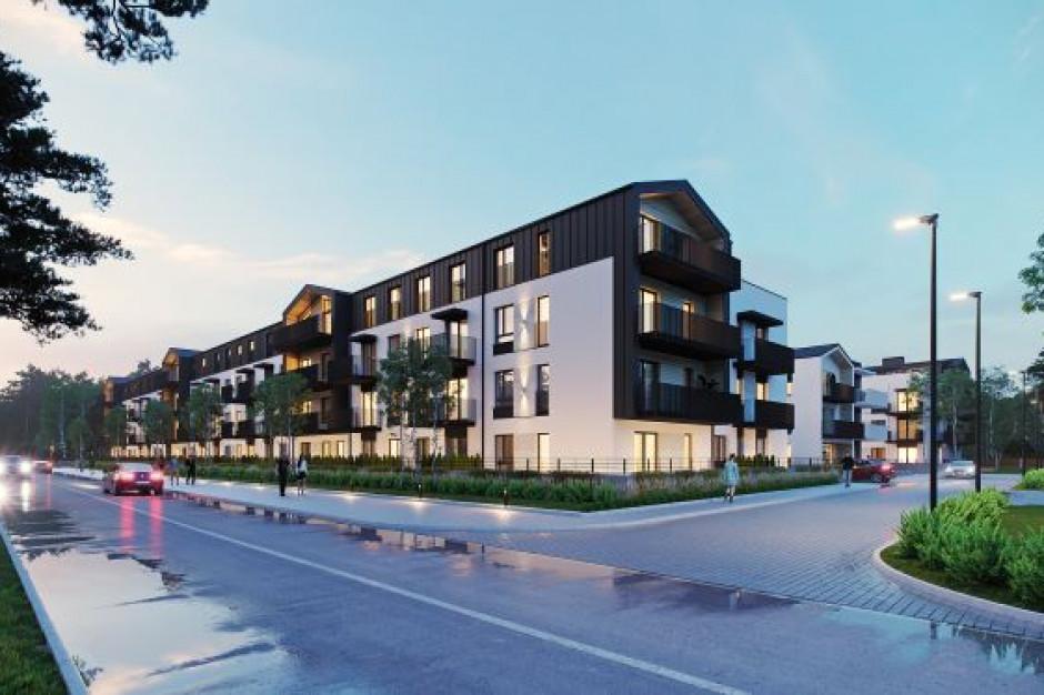 Pod Puszczą Kampinoską powstaje Zielonki Residence. Połowa mieszkań już sprzedana