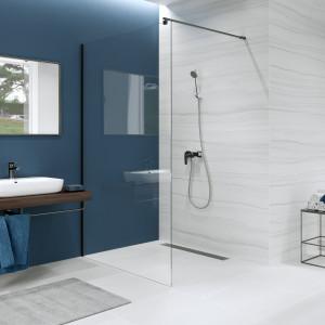Minimalizm i elegancja w nowoczesnych kabinach prysznicowych