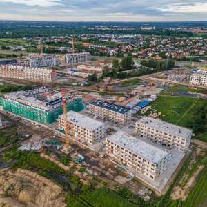 To będzie jedno z największych osiedli w tej części Wrocławia. Budowa Robyg Jagodno nabiera tempa