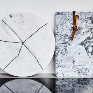 Marmurowe wnętrza - od mebli po tekstylia