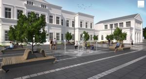 Sosnowiec: przebudowa placu przed dworcem – do lata 2021 roku