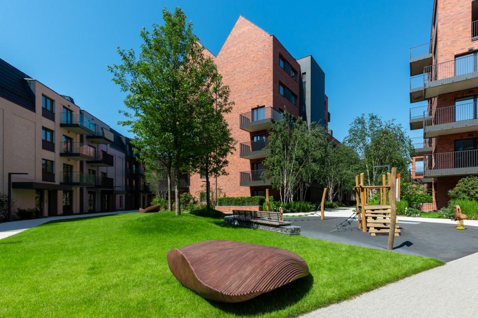 Studenci gdańskiego ASP ozdobili przestrzeń wspólną osiedla Riverview