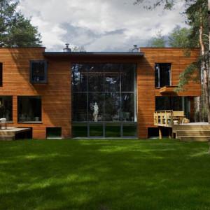 Prawdziwie rodzinny dom architekta. Tak go urządzono