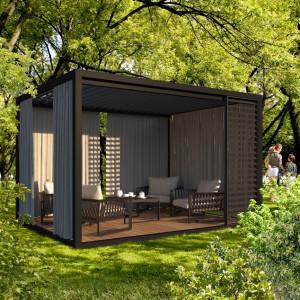 Trzy żywioły w ogrodzie. Jak chronić posesję przed słońcem, wiatrem i deszczem