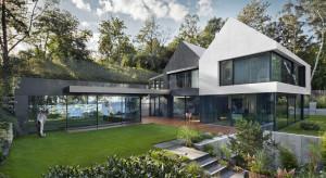 Minimalistyczny dom w ekskluzywnej dzielnicy Gdyni