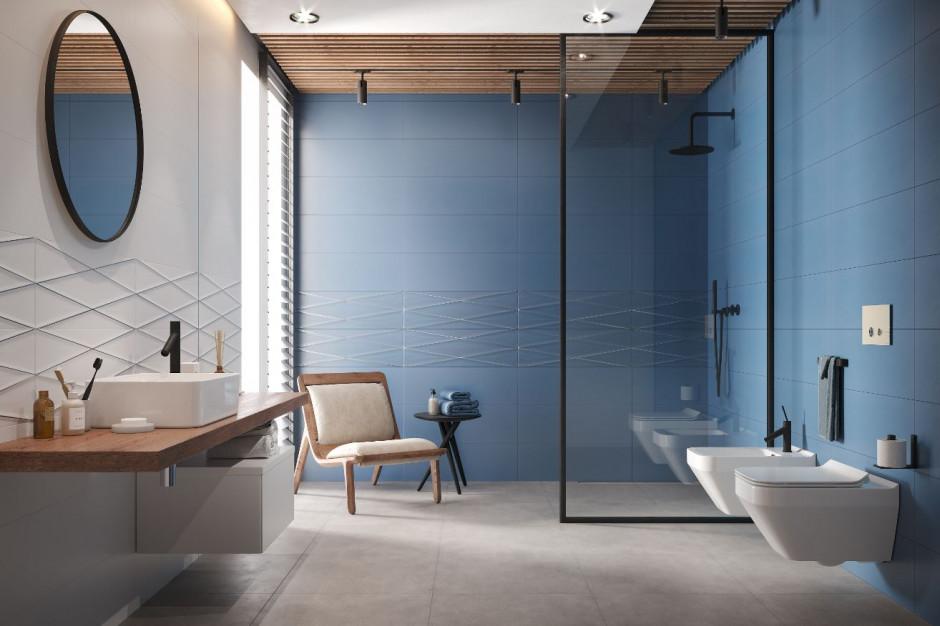 Płytki 3D - nowy trend w łazience