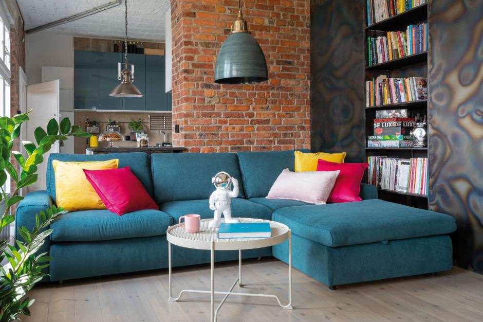 Soft loft - łagodna odsłona industrialnych klimatów