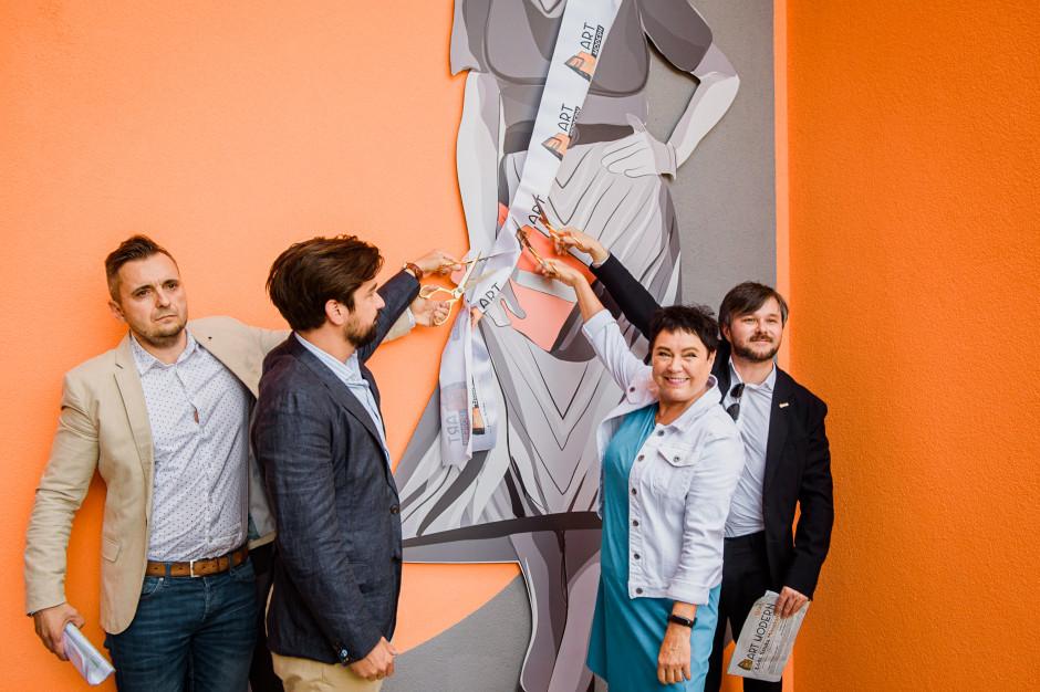 Art Modern w Łodzi z kolejnym muralem, wkrótce rewitalizacja loftów