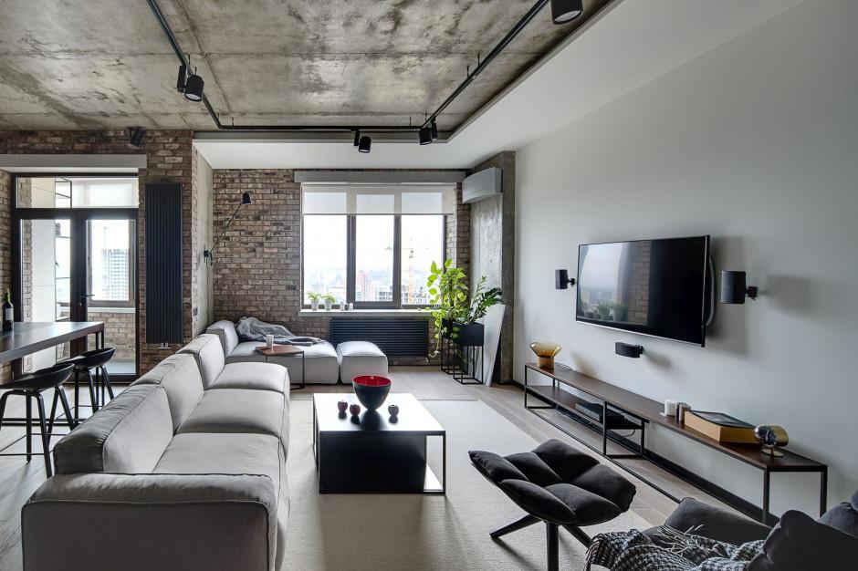 Soft loft w bloku. Jak wprowadzić styl industrialny w niewielkim mieszkaniu