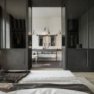 Ukłon w stronę czerni w luksusowym apartamencie