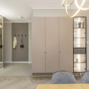 Modern classic w stylowym apartamencie