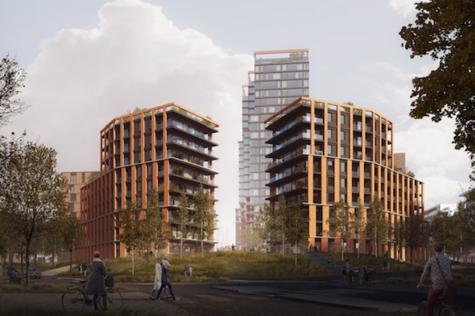 Tak będą wyglądały mieszkalne wieże w Porcie Popowice