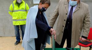 Zawieszenie wiechy na U-City Residence w Ursusie okazją do akcji charytatywnej