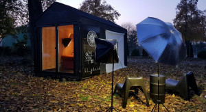Domek rekreacyjny czy biuro? Projekt Tiny Domku