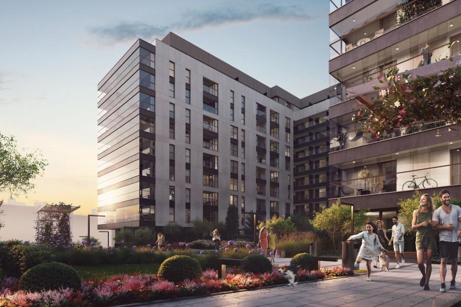 Mieszkania, biura, przestrzeń rekreacyjna. Asbud z pokaźnym projektem w Warszawie