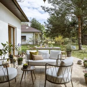 Klimatyczny dom z nutką romantyzmu. Tak mieszka stylistka wnętrz